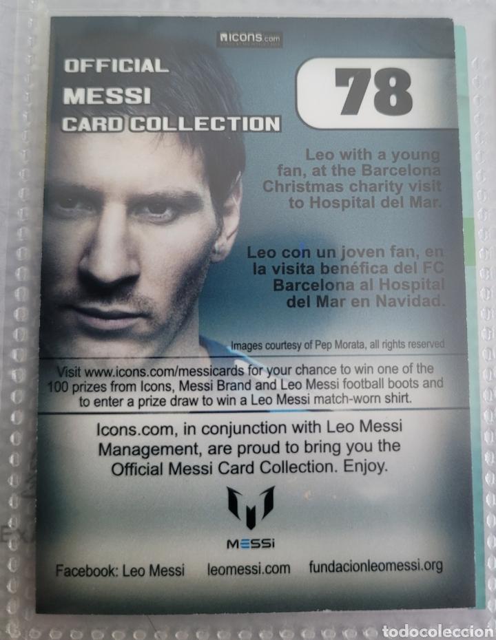 Coleccionismo Cromos antiguos: LEO MESSI Messi card collection - Foto 2 - 268405574