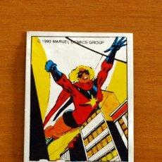Coleccionismo Cromos antiguos: SUPERHÉROES - Nº 85, MISS MARVEL - MARVEL 1980 - CHOCOLATES TERRABUSI - NUNCA PEGADO. Lote 268591179