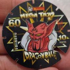 Coleccionismo Cromos antiguos: DRAGON BALL 1989 TAZO PROMO SNACKS MATUTANO DARBURA PLÁSTICO 4 CMS USADO Nº 60 VER FOTOS. Lote 269415523