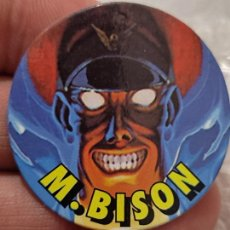 Coleccionismo Cromos antiguos: STREET FIGHTER II TAZO PROMOCIONAL CHICLE CHEWGUM M BISON Nº 2 4 CMS ORIGINAL. Lote 269419153