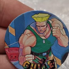 Coleccionismo Cromos antiguos: STREET FIGHTER II TAZO PROMOCIONAL CHICLE CHEWGUM GUILE Nº 26 4 CMS ORIGINAL. Lote 269419548