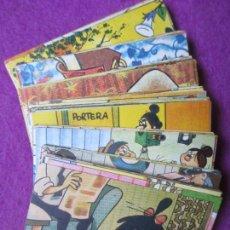 Coleccionismo Cromos antiguos: LOTE 68 CROMOS ¡VAMOS A LA CAMA! LA FAMILIA TELERIN VER FOTOS. Lote 269646433