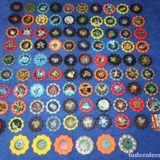 Coleccionismo Cromos antiguos: LOTE DE 95 TAZOS POKEMON BOINX - CHIPICAO - CHEETOS ¡IMPECABLES!. Lote 269742828