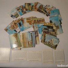 Coleccionismo Cromos antiguos: MONUMENTOS Y MARAVILLAS DEL MUNDO. CROMOS CON PUBLICIDAD CIGARRILLOS CUMBRE. AÑO 1965. NUEVOS.. Lote 270393788