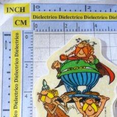 Coleccionismo Cromos antiguos: PEGATINA CROMO DE DULCES CHUCHERÍAS. DONUTS AÑO 1986. ASTÉRIX OBÉLIX.. Lote 270643793