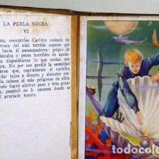 Coleccionismo Cromos antiguos: LA PERLA NEGRA (12 CROMOS - COMPLETO). PERIQUITO SIN MIEDO (12 CROMOS - COMPLETO). LOS TRES PELOS DE. Lote 272937748