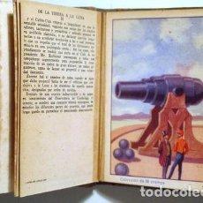 Coleccionismo Cromos antiguos: (JULES VERNE) - DE LA TIERRA A LA LUNA (36 CROMOS - COMPLETO) - BARCELONA S.F.. Lote 272937833
