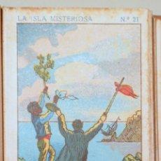 Coleccionismo Cromos antiguos: (JULES VERNE) - LA ISLA MISTERIOSA (42 CROMOS - COMPLETO). Lote 272937913
