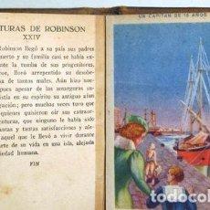 Coleccionismo Cromos antiguos: AVENTURA DE ROBINSON CRUSOE. UN CAPITAN DE 15 AÑOS. (24 CROMOS - COMPLETO). Lote 273903318