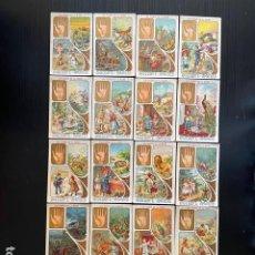 Coleccionismo Cromos antiguos: LOTE DE 18 CROMOS DE LOS SIGNOS DE LA MANO (CHOCOLATES AMATLLER). Lote 275866863