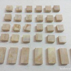 Coleccionismo Cromos antiguos: 32 PLACAS LISAS/EXIN CASTILLOS ORIGINAL.. Lote 276457548