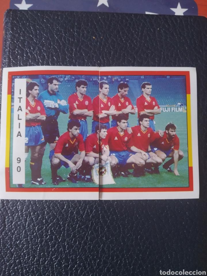 ESPAÑA 94 , DOS CROMOS MUNDIAL 90 SIN PEGAR (Coleccionismo - Cromos y Álbumes - Cromos Antiguos)