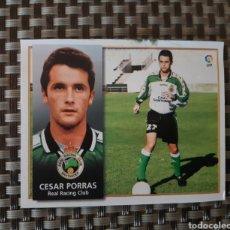 Coleccionismo Cromos antiguos: CROMO LIGA 98-99 COLOCA CÉSAR PORRAS RECORTADO VER FOTO. Lote 277168348