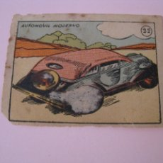 Coleccionismo Cromos antiguos: ANTIGUO CROMO. AUTOMOVIL MODERNO. Nº 22. 6X4,5 CM. MAL ESTADO.. Lote 277723758