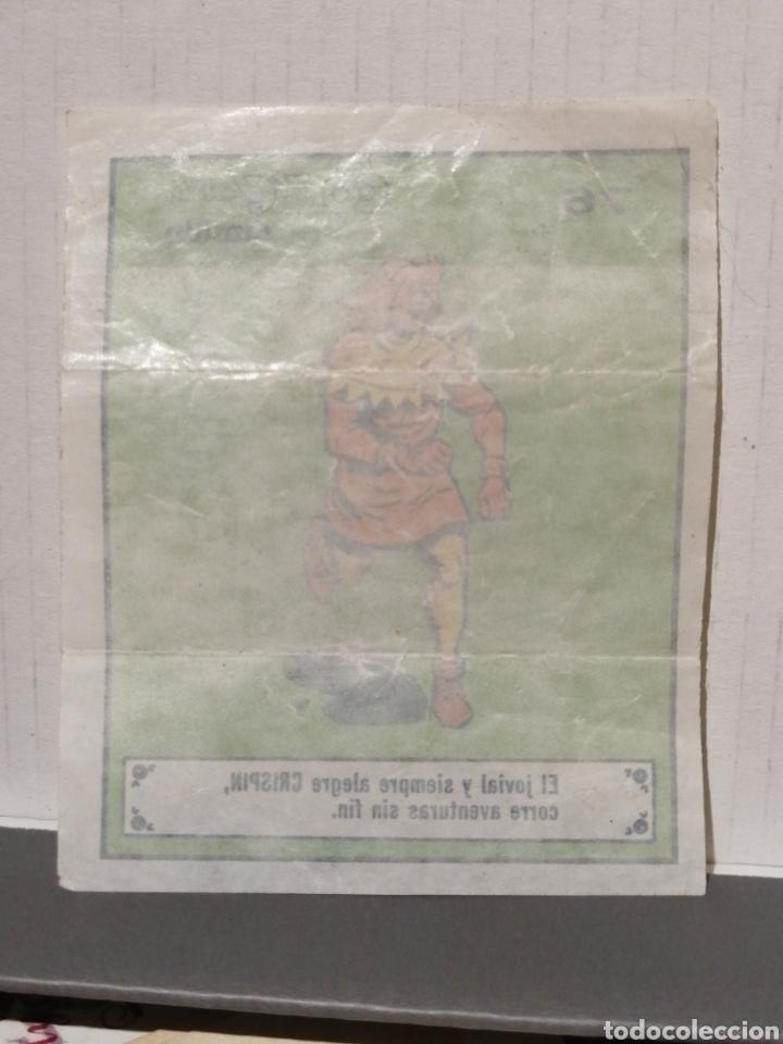 Coleccionismo Cromos antiguos: Cromo COMICLANDIA DE DUNKIN CRISPÍN Numero 76 de la coleccion - Foto 2 - 278385708
