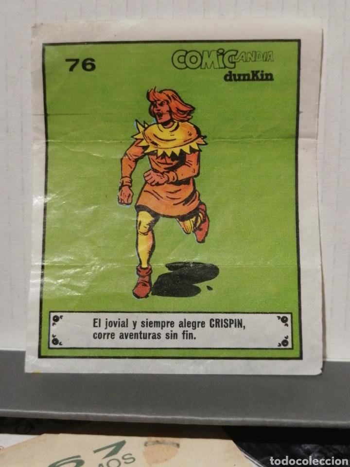 CROMO COMICLANDIA DE DUNKIN CRISPÍN NUMERO 76 DE LA COLECCION (Coleccionismo - Cromos y Álbumes - Cromos Antiguos)