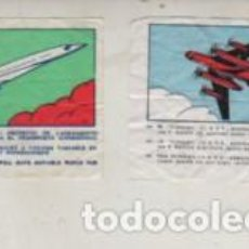 Coleccionismo Cromos antiguos: LOTE DE DOS CROMOS TEMA AVIONES ? BOING 733 USA - Y TUPOLEV. Lote 278983413