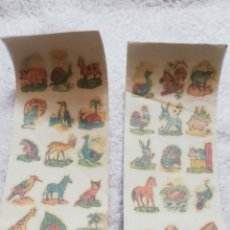 Coleccionismo Cromos antiguos: LOTE CALCOMANIAS ORTEGA. Lote 279410288