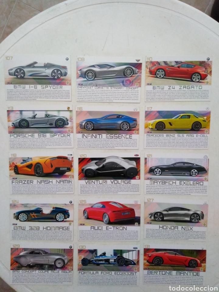 Coleccionismo Cromos antiguos: Lote de 103 CROMOS TOP CARS MC SPORT ( todos diferentes ) 12.50 X 8.50 cm - Foto 6 - 287544828