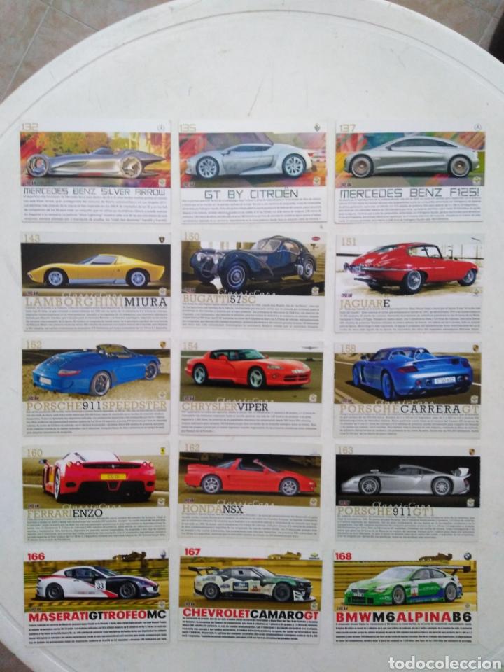 Coleccionismo Cromos antiguos: Lote de 103 CROMOS TOP CARS MC SPORT ( todos diferentes ) 12.50 X 8.50 cm - Foto 7 - 287544828