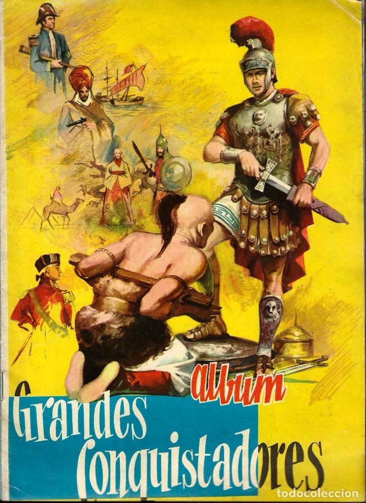 LOTE DE CROMOS. CROMOS SUELTOS; 0,60 €. GRANDES CONQUISTADORES. FERMA, CHOCOLATES SOLÉ, 1960. (Coleccionismo - Cromos y Álbumes - Cromos Antiguos)