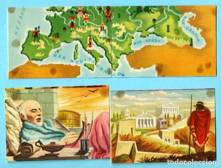 Coleccionismo Cromos antiguos: LOTE DE CROMOS. CROMOS SUELTOS; 0,60 €. GRANDES CONQUISTADORES. FERMA, CHOCOLATES SOLÉ, 1960. - Foto 3 - 287875998
