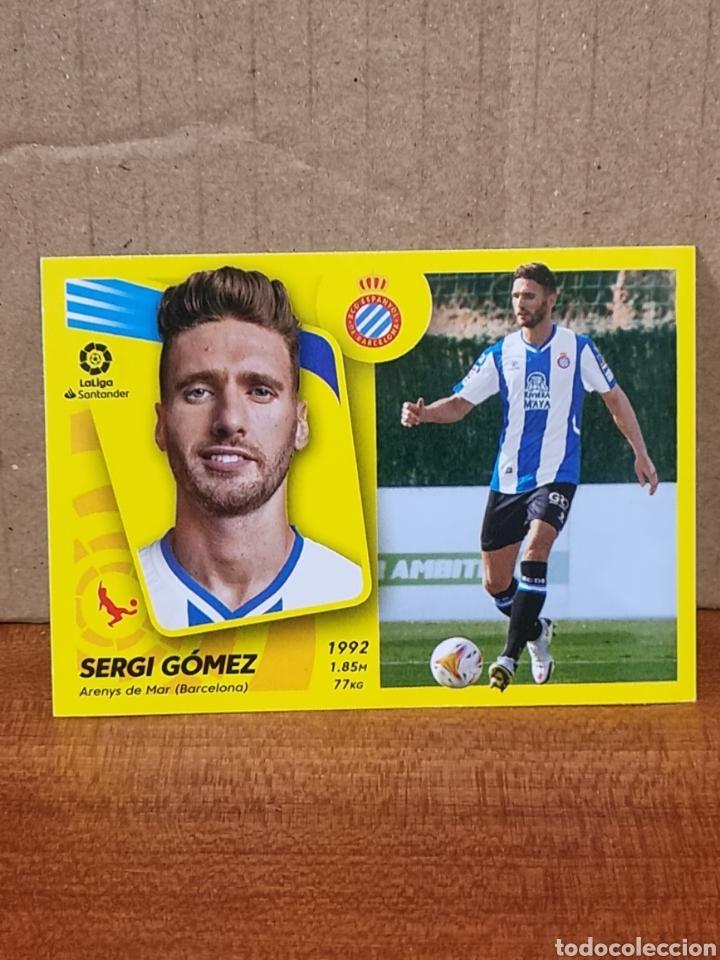 UF - SERGI GOMEZ N°24 ESPAÑOL LIGA ESTE 21 22 (Coleccionismo - Cromos y Álbumes - Cromos Antiguos)