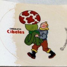 Coleccionismo Cromos antiguos: CROMO TINTÍN CHOCOLATE CIBELES. Lote 288100473