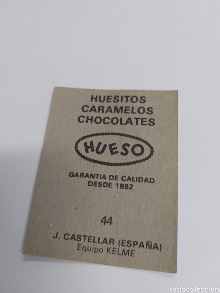 Coleccionismo Cromos antiguos: CROMO HUESO HUESITOS CICLISMO KELME, CASTELLAR - Foto 2 - 288124628
