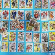 Coleccionismo Cromos antiguos: LOTE DE 48 CROMOS MONSTRUOS LOCOS LOCOS LOCOS. Lote 288605048