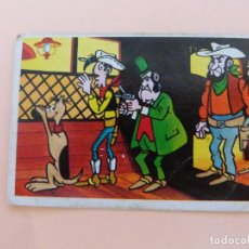 Coleccionismo Cromos antiguos: CROMO DE LUCKY LUKE DESPEGADO Nº 180 AÑO 1985 DEL ALBUM LUCKY LUKE DE ESTE. Lote 288922738