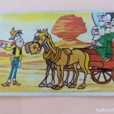 Coleccionismo Cromos antiguos: CROMO DE LUCKY LUKE DESPEGADO Nº 193 AÑO 1985 DEL ALBUM LUCKY LUKE DE ESTE. Lote 288922948