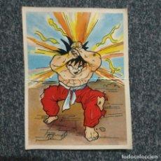 Coleccionismo Cromos antiguos: PANRICO - DRAGON BALL Z SUPER ADHESIVOS SIN PEGAR BOLA DE DRAGON CON TRASERA AÑOS 90 NO PHOSKITOS. Lote 289515238