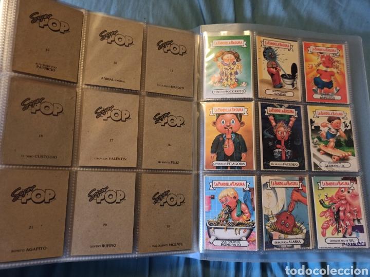 Coleccionismo Cromos antiguos: La pandilla basura superpop super pop completa!!!!! - Foto 2 - 290144138