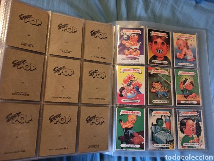 Coleccionismo Cromos antiguos: La pandilla basura superpop super pop completa!!!!! - Foto 3 - 290144138