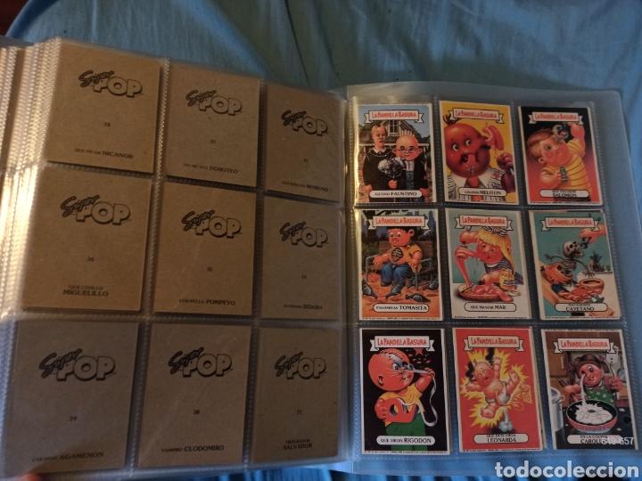 Coleccionismo Cromos antiguos: La pandilla basura superpop super pop completa!!!!! - Foto 4 - 290144138
