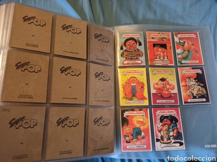 Coleccionismo Cromos antiguos: La pandilla basura superpop super pop completa!!!!! - Foto 5 - 290144138