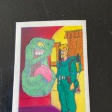 Coleccionismo Cromos antiguos: PHOSKITOS LOS CAZAFANTASMAS LUMINOSO Nº 15 NUEVO. Lote 293756983
