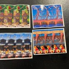 Coleccionismo Cromos antiguos: BIMBO VERAS PORT AVENTURA EN 3D Nº 8-17-18 Y 20 NUEVOS SE VENDEN SUELTOS. Lote 293788753