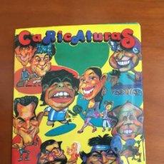 Coleccionismo Cromos antiguos: CARICATURAS SOBRE DE CROMOS SIN ABRIR ORIGINAL MUY BUEN ESTADO. Lote 295292068
