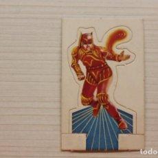 Coleccionismo Cromos antiguos: CROMO SARK EL GUERRERO, BIMBO, TROQUELADO. Lote 296020168