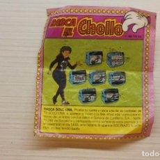 Coleccionismo Cromos antiguos: CROMO CHICLE RASCA EL CHOLLO. Lote 296023683