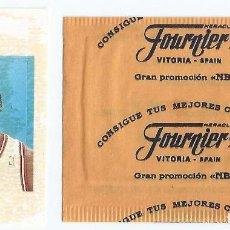 Coleccionismo Cromos antiguos: CONSIGUE TUS MEJORES CANASTAS - PROMOCIÓN NBA - MICHAEL JORDAN - FOURNIER. Lote 296069258