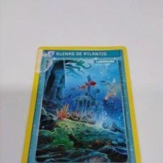Coleccionismo Cromos antiguos: PANINI INVIZIMALS N° 294 RUINAS DE ATLANTIS. Lote 296768728