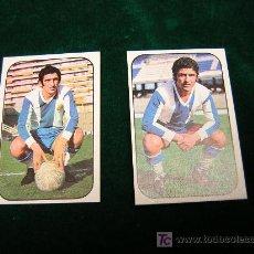 Cromos de Fútbol: LOTE DE 2 CROMOS FUTBOL-EDICIONES ESTE - LIGA 76/77-R.C.D.ESPAÑOL- EXCELENTE ESTADO. Lote 24231993