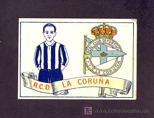 CROMO DE FUTBOL: R.C.D.CORUÑA. (CHOCOLATES AMATLLER NUM.11) (Coleccionismo Deportivo - Álbumes y Cromos de Deportes - Cromos de Fútbol)