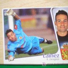 Cromos de Fútbol: CROMO DE LAINEZ // REAL ZARAGOZA // LIGA 2004 - 2005 // EDICIONES ESTE. . Lote 5907830