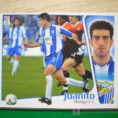 Cromos de Fútbol: CROMO DE JUANITO // MÁLAGA CF // LIGA 2004 - 2005 // EDICIONES ESTE. . Lote 5908764