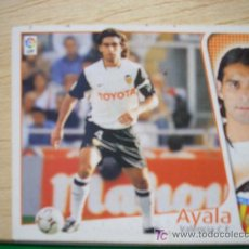 Cromos de Fútbol: CROMO DE AYALA // VALENCIA CF // LIGA 2004 - 2005 // EDICIONES ESTE. . Lote 5908990