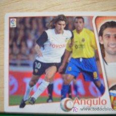 Cromos de Fútbol: CROMO DE ANGULO // VALENCIA CF // LIGA 2004 - 2005 // EDICIONES ESTE. . Lote 5909046
